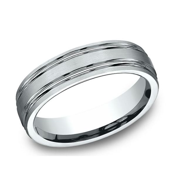 Comfort-Fit Design Wedding Band Mystique Jewelers Alexandria, VA