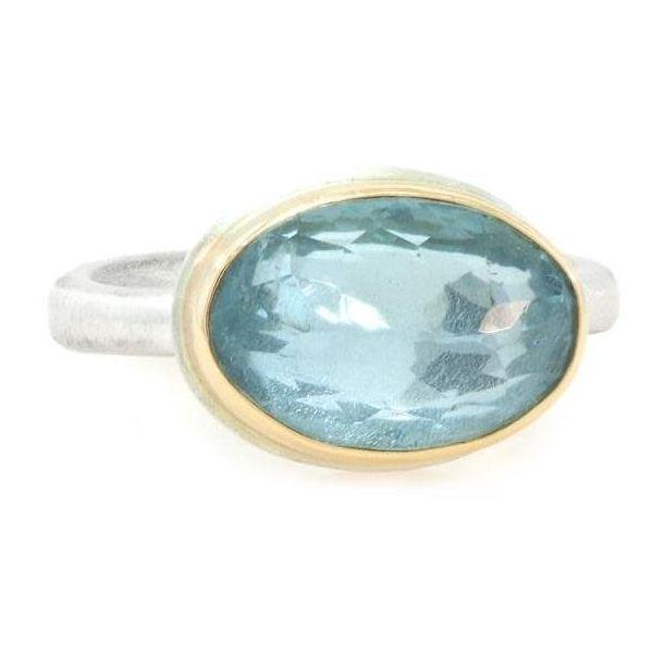 Jaime Joseph Aquamarine ring  Image 2 Mystique Jewelers Alexandria, VA