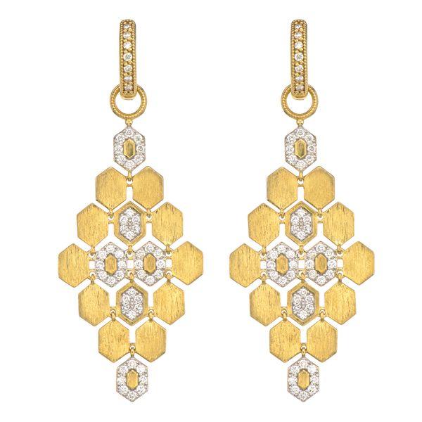 Hexagon Chandelier Earring Charms Mystique Jewelers Alexandria, VA