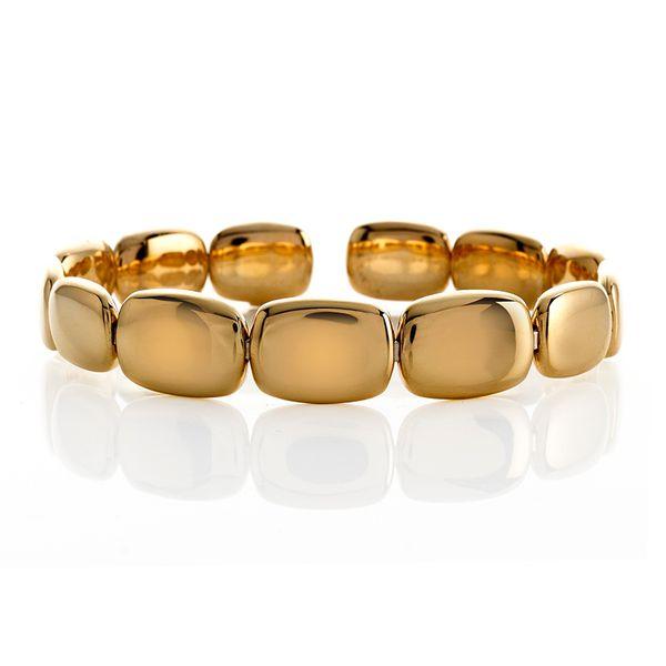 Flexible Gold Cuff Bracelet  Mystique Jewelers Alexandria, VA