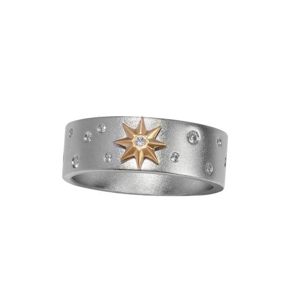 Lynx Gold Star Ring Mystique Jewelers Alexandria, VA