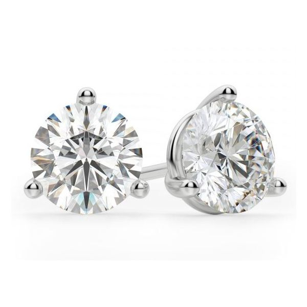 14kt 1ct Diamond Stud Earrings Mystique Jewelers Alexandria, VA