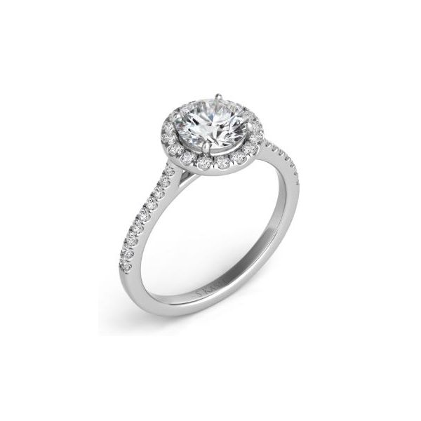 HALO ENGAGEMENT RING Mystique Jewelers Alexandria, VA