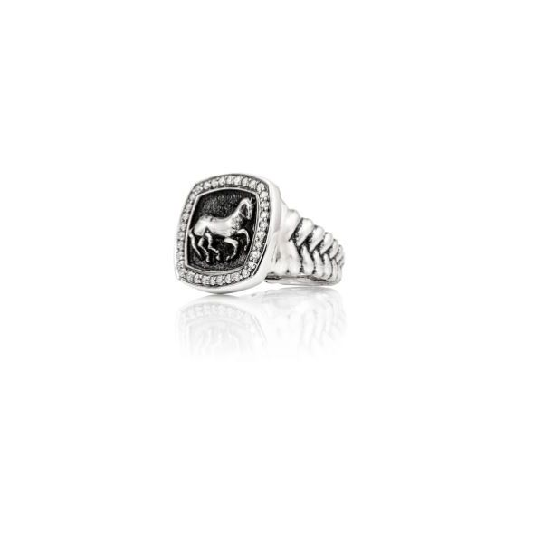 Finnhorse Ring   Diamond Image 2 Mystique Jewelers Alexandria, VA