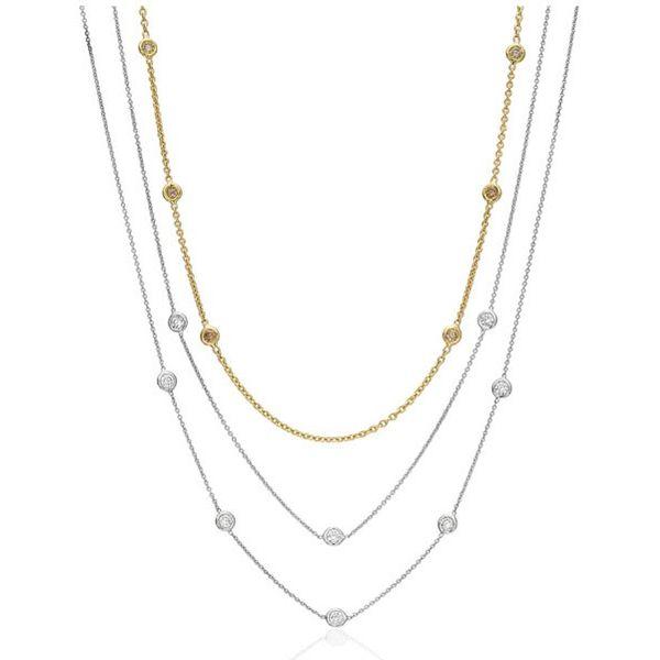 Diamonds by the yard necklace Mystique Jewelers Alexandria, VA