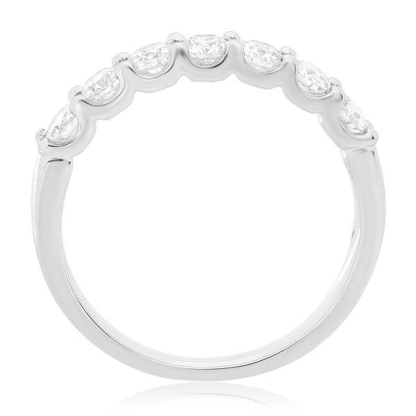 Nine Stone White Diamond Band  Image 2 Mystique Jewelers Alexandria, VA