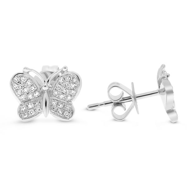 Butterfly Stud Earrings Mystique Jewelers Alexandria, VA
