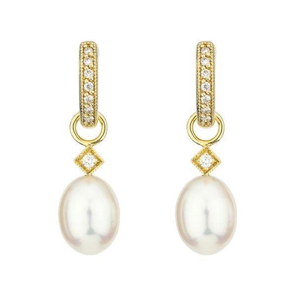 White Pearl Briolette Earring Charms Mystique Jewelers Alexandria, VA