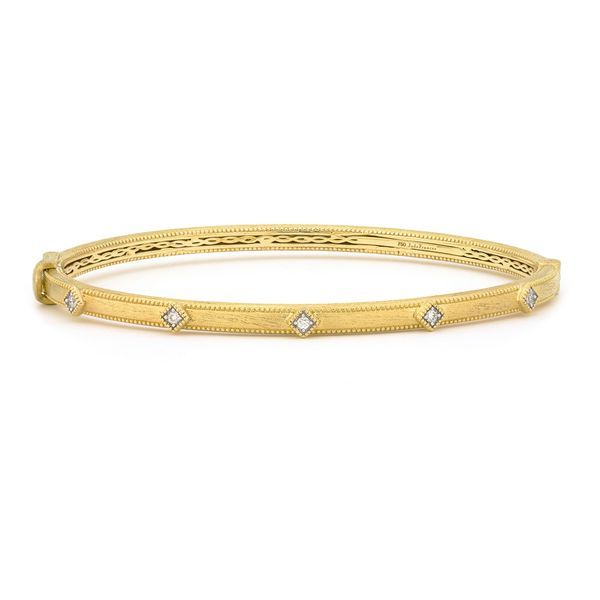 Lisse Simple Diamond Bangle  Mystique Jewelers Alexandria, VA
