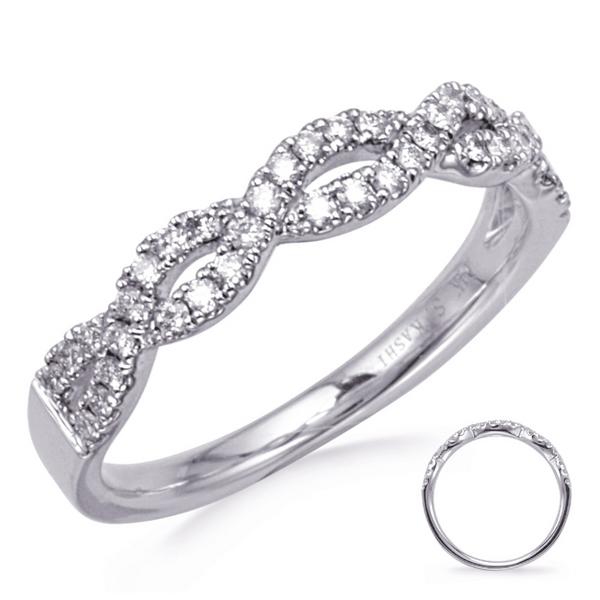 Diamond Twist Band Mystique Jewelers Alexandria, VA