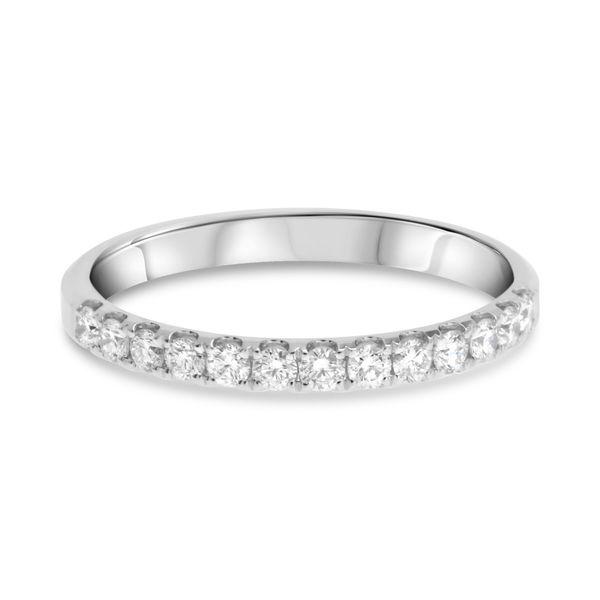Diamond Half Eternity Band Mystique Jewelers Alexandria, VA