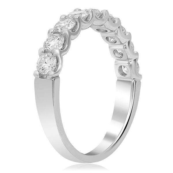 Nine round brilliant Diamond Band Image 3 Mystique Jewelers Alexandria, VA