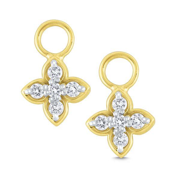 Diamond Flower Earring Charms Mystique Jewelers Alexandria, VA