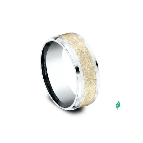 Sculpted Gold ring Image 2 Mystique Jewelers Alexandria, VA