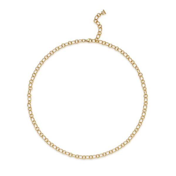 18K Ribbon Chain Mystique Jewelers Alexandria, VA