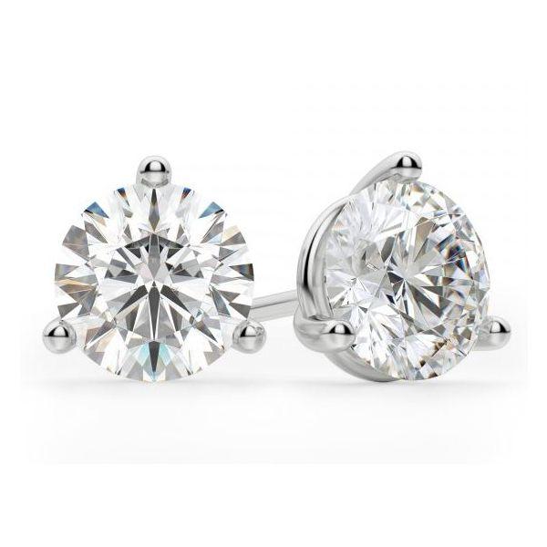 14kt .75ct Diamond Stud Earrings Mystique Jewelers Alexandria, VA
