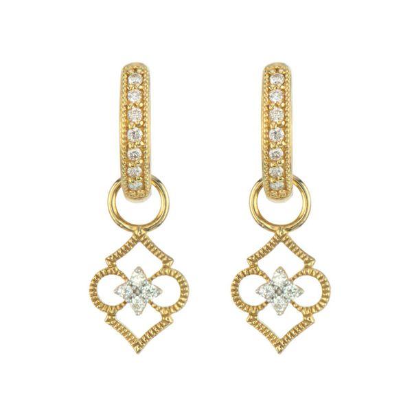 Moroccan Open Air Clover Earring Charm Mystique Jewelers Alexandria, VA
