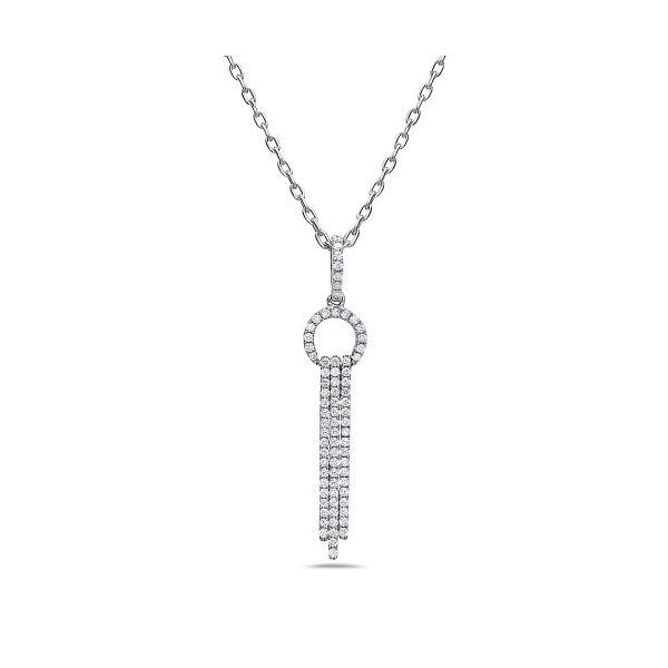 Diamond Art Deco Necklace Mystique Jewelers Alexandria, VA