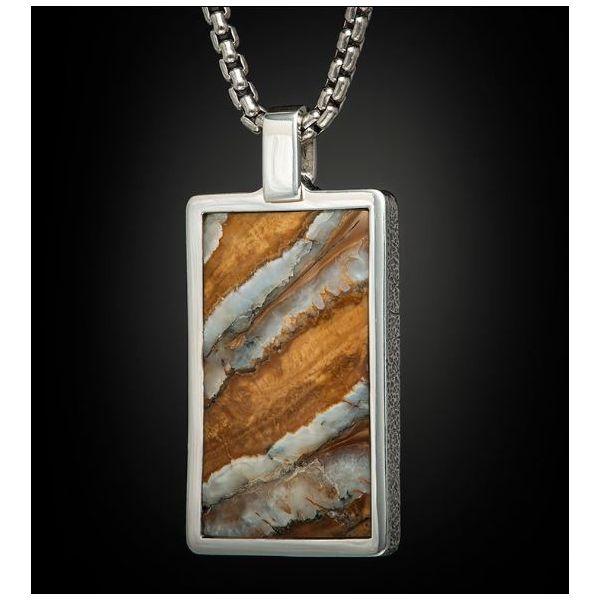 Mammoth Tooth Pendant Necklace Mystique Jewelers Alexandria, VA