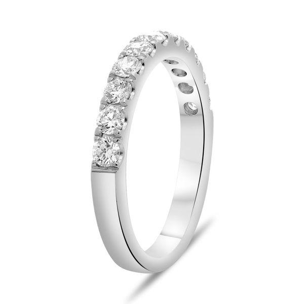 Classic White Diamond Band Image 2 Mystique Jewelers Alexandria, VA