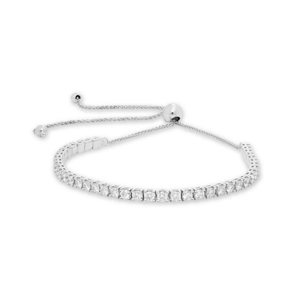 Two Carat White Diamond Bolo Bracelet Mystique Jewelers Alexandria, VA