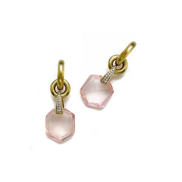 Rose Quartz Earrings Mystique Jewelers Alexandria, VA