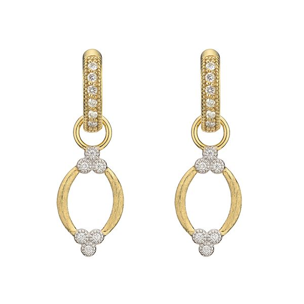 Provence Brushed Open Marquis Quad Earring Charms Mystique Jewelers Alexandria, VA