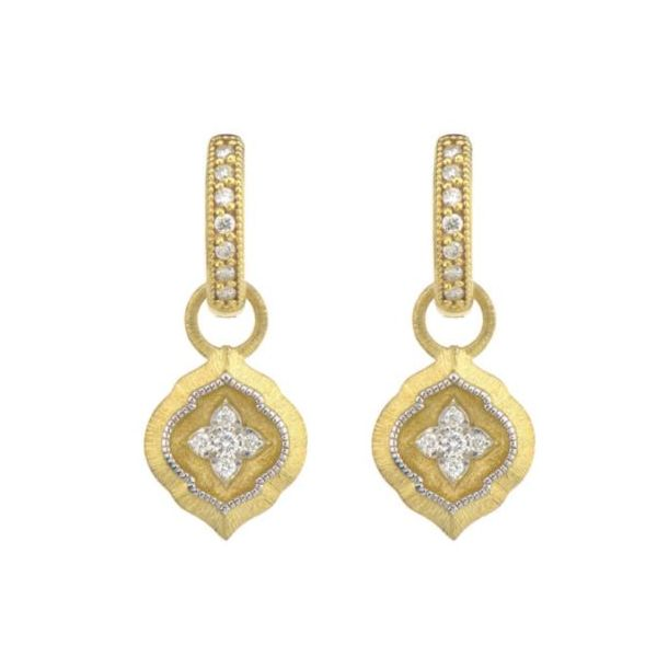 Moroccan Pave Earring Charms Mystique Jewelers Alexandria, VA