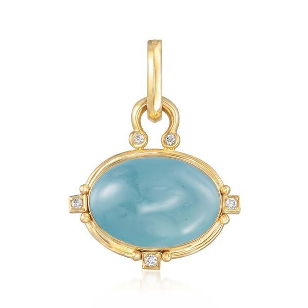 Aquamarine enhancer  Mystique Jewelers Alexandria, VA