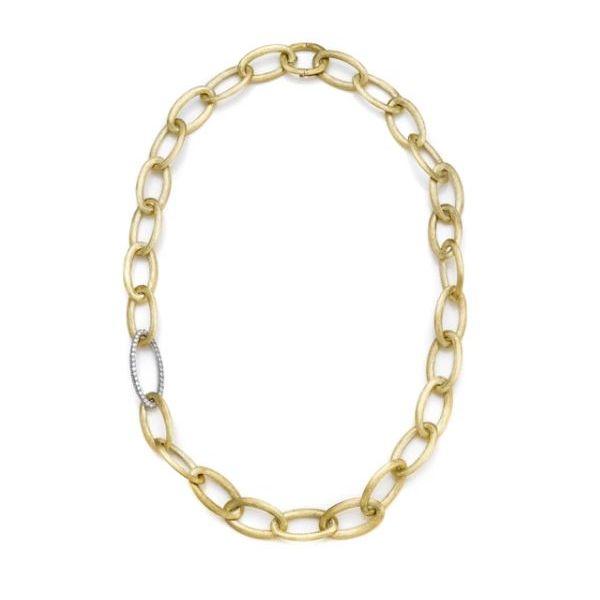 DIAMOND LINK NECKLACE  Mystique Jewelers Alexandria, VA