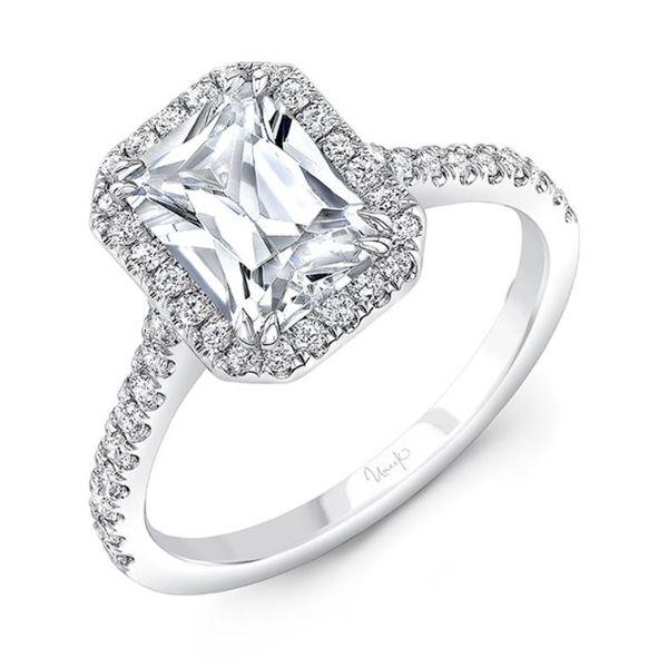Emerald cut Engagement Ring Mystique Jewelers Alexandria, VA