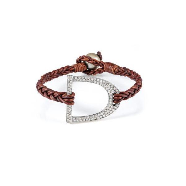 Diamond Derby Stirrup Bracelet Mystique Jewelers Alexandria, VA