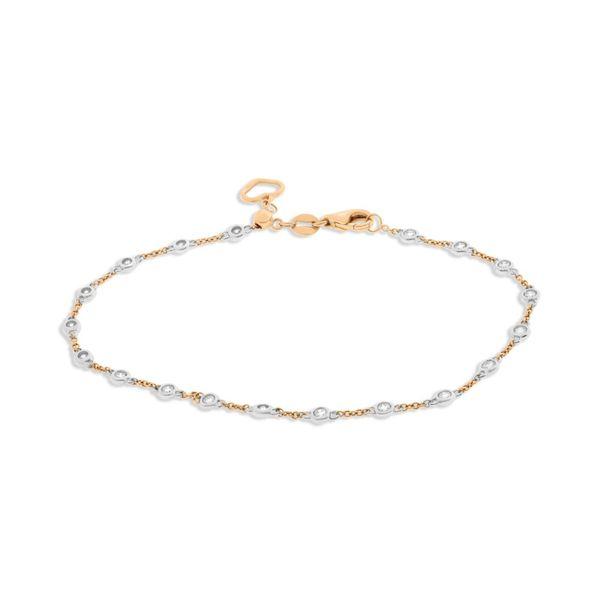Rose Gold Diamond by the Yard Bracelet Mystique Jewelers Alexandria, VA