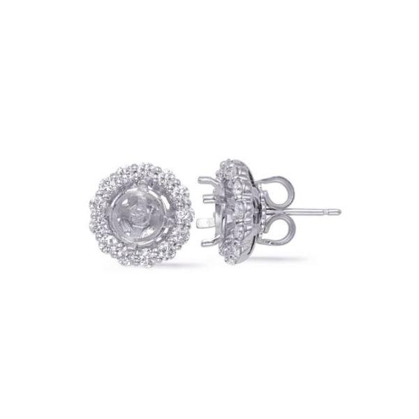 Diamond Earring Mountings Mystique Jewelers Alexandria, VA