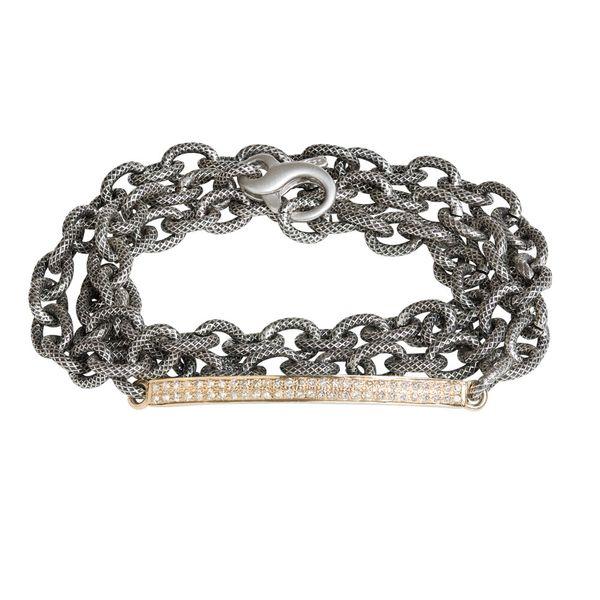 Arpeggio Diamond Pave Chain Bracelet Mystique Jewelers Alexandria, VA