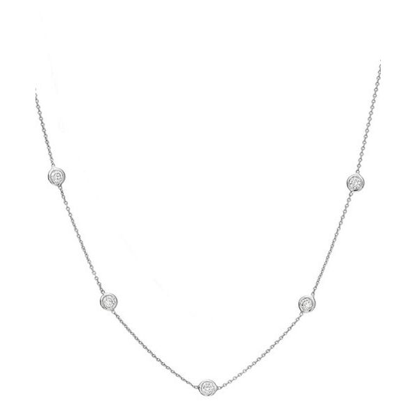 1.25 ct diamond by the yard necklace Mystique Jewelers Alexandria, VA