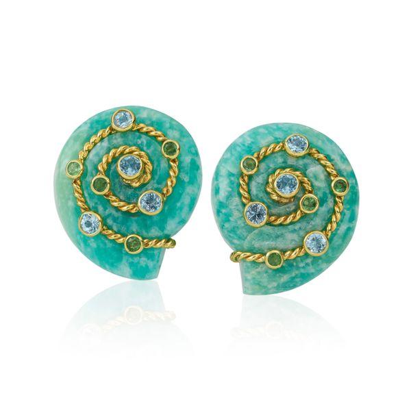 Amazonite Earrings  Mystique Jewelers Alexandria, VA