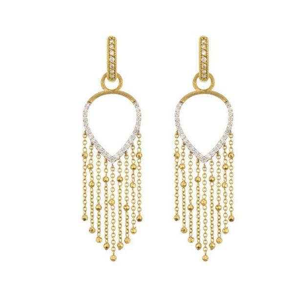 Pave Teardrop Charm Mystique Jewelers Alexandria, VA