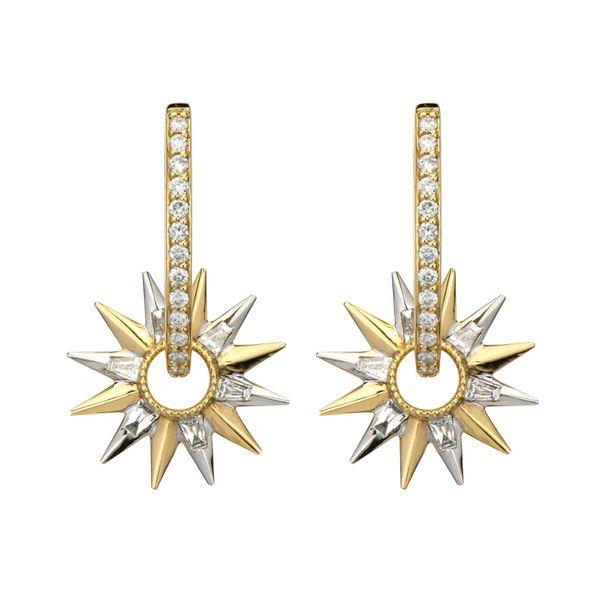 Open Starburst Baguette Charms Mystique Jewelers Alexandria, VA