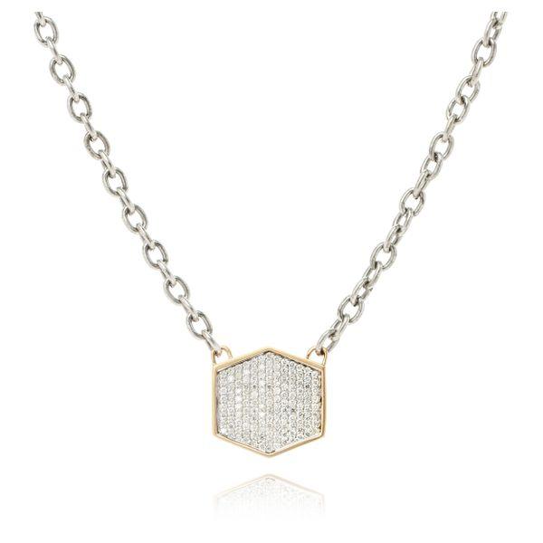 Diamond Pave Necklace Mystique Jewelers Alexandria, VA
