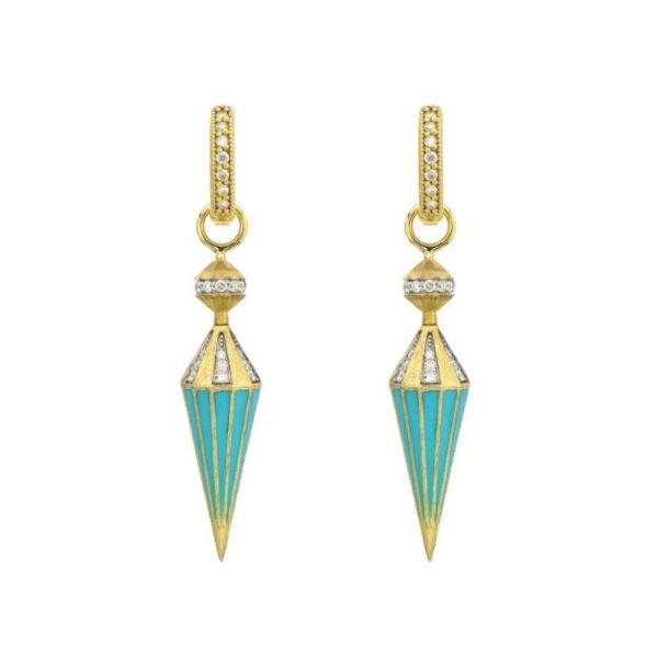 Spinning Cone Diamond and Ceramic Charms Mystique Jewelers Alexandria, VA
