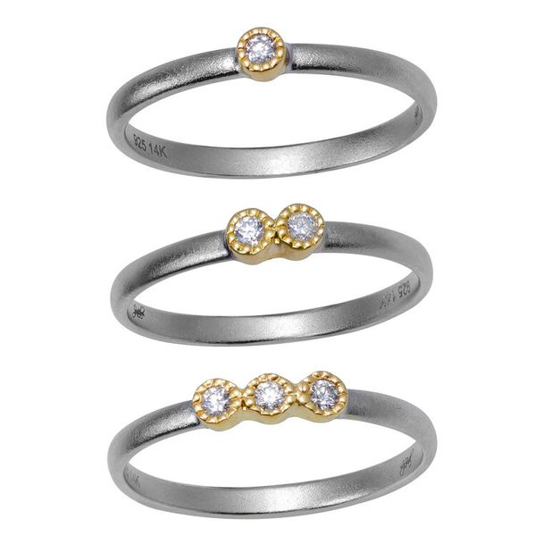 Rivka Stack Rings Mystique Jewelers Alexandria, VA