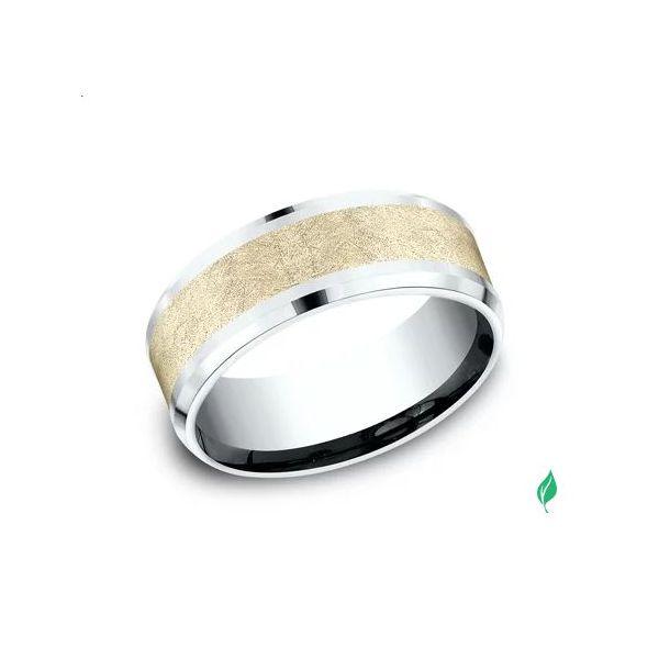 Sculpted Gold ring Mystique Jewelers Alexandria, VA