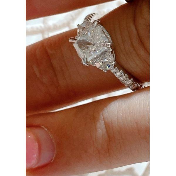 Radiant Diamond Ring Mystique Jewelers Alexandria, VA