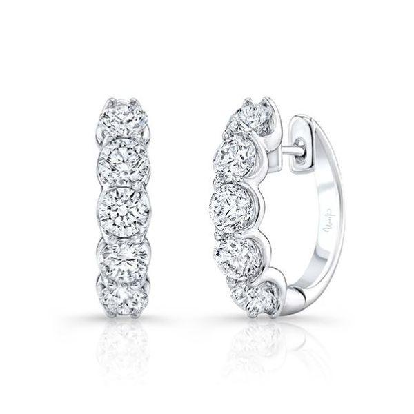 Diamond 3 carat Huggies Mystique Jewelers Alexandria, VA