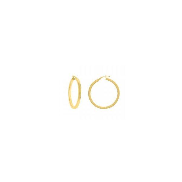 Square Hoop Earrings Mystique Jewelers Alexandria, VA