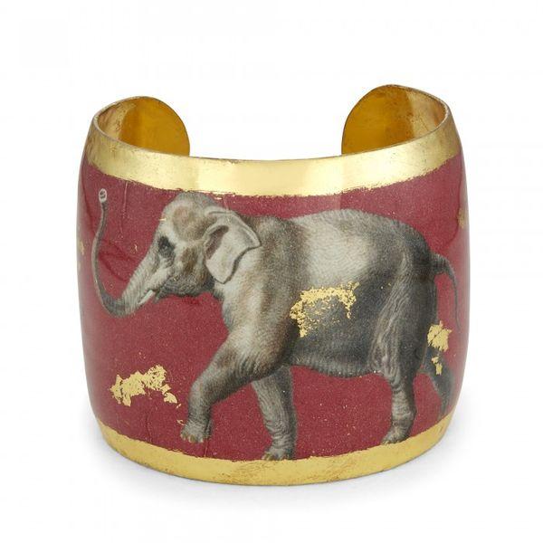 Elephant Crimson Cuff Mystique Jewelers Alexandria, VA