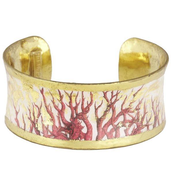 Coral Corset Cuff Mystique Jewelers Alexandria, VA