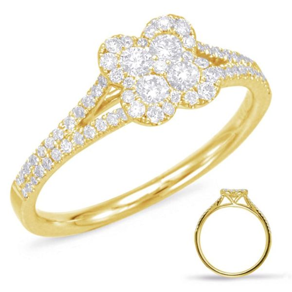 Clover Diamond Ring Mystique Jewelers Alexandria, VA