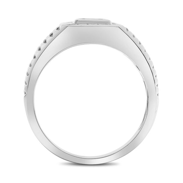 Diamond Men's Engagement Ring  Image 3 Mystique Jewelers Alexandria, VA